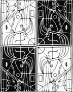 Tribal Pattern Stock Illustration