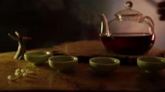 Tea ceremony Stock Footage