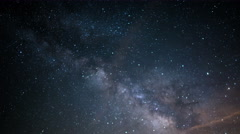 6K Milky Way Aquarids Meteor Shower 17 Time Lapse Stock Footage
