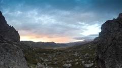 Isle of Skye sunrise Stock Footage