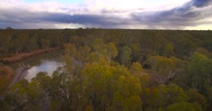 Murray River Australia Stock Footage