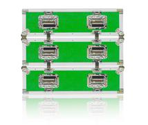 New green toolbox with shadow Stock Photos