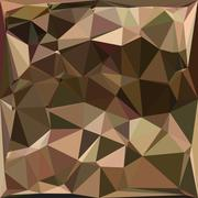 Sienna Abstract Low Polygon Background Stock Illustration
