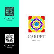 Logo design Carpet, vector EPS10 Stock Illustration