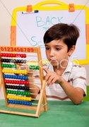 Mathematics lesson Stock Photos