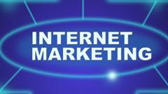 Internet marketing Stock Footage