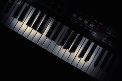 Modern Midi Keyboard Controller Stock Photos