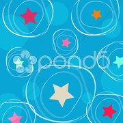 Starry background Stock Illustration