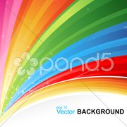 colorful vector background - stock photo