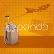 Travel background Stock Illustration
