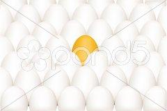 Unique egg Stock Illustration