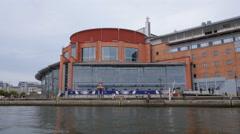 The Opera house, Gothenburg Stock Footage