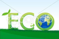 Eco friendly Stock Illustration
