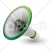 Loud speaker Stock Illustration
