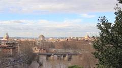 Rome, Trastevere. Stock Footage