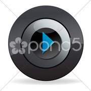 Play button Stock Illustration