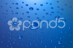 Water drops background Piirros