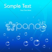 Bubbly vector background Stock Illustration