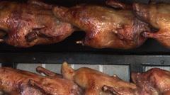 Roast Duck. Oktoberfest. Stock Footage