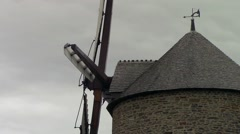 Closeup of a windmill Stock Footage