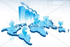 Currency of capitals Stock Illustration