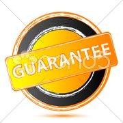 guarantee seal - stock photo