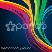 abstract vector background - stock photo