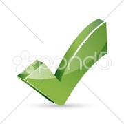Right sign Stock Illustration