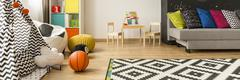 Functional room for your growing child Stock Photos