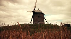 Traditional windmill Stock Footage