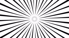 Gobo Mask Pulsating Sun Stock Footage