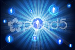 networking - stock photo