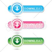 Downloading signs Stock Illustration
