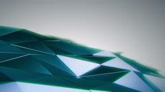 Abstract Metallic Surface Random Motion, 3d Loopable Animation 4k Stock Footage