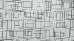 Abstract Geometric Shapes Background Random Motion, 3d Loopable Animation 4k Stock Footage