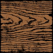 Brown wood texture background in square format Stock Illustration