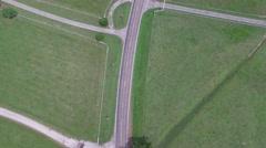 Rural Road Vertical Stock Footage