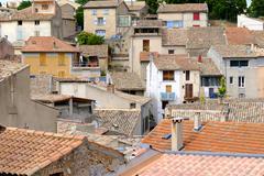 Sainte Croix Du Verdon Provence, Alpes, France Stock Photos