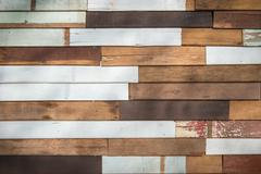 Wooden planks wall texture abstract for background Stock Photos