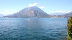 Como lake, Italy Stock Footage