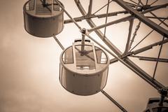 Ferris wheel for Scenic ride in amusement park Kuvituskuvat