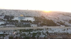 The temple mount Stock Footage