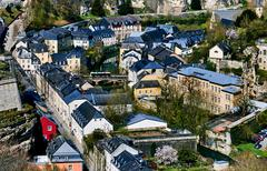 Luxembourg cityscape. Western Europe Stock Photos