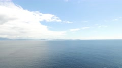 View to ocean at wild atlantic way in ireland 77 Stock Footage