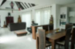 Blur living room Stock Photos