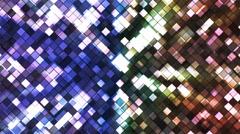 Broadcast Twinkling Squared Diamonds 16 Stock Footage