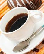 Aromatic Brewed Coffee Indicating Hot Drink And Refreshment Stock Photos