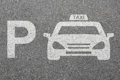 Parking lot sign car park taxi cab sign vehicle street road traffic town city Kuvituskuvat