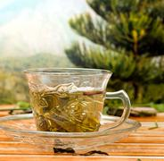 Japanese Green Tea Meaning Refreshments Healthy And Refreshing Stock Photos