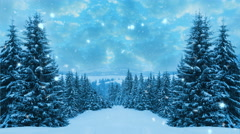 Happy New Year,Christmas,winter background Stock Footage